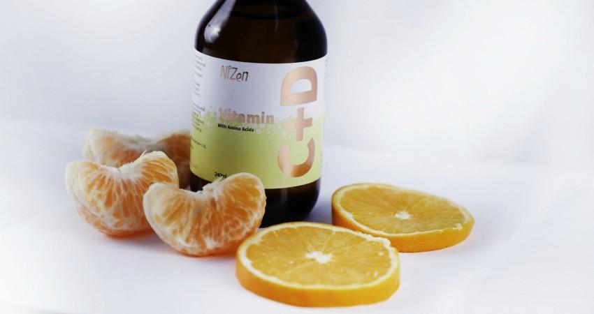 Vitamin C, D